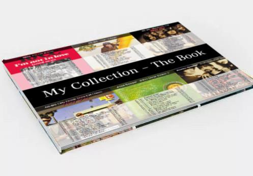 Coming soon ... Ihre Sammlung mit Covern und Inhaltsverzeichnis in einem Fotobuch gedruckt!